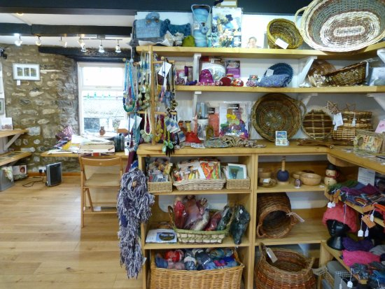 Sedbergh, UK: The inside of the shop