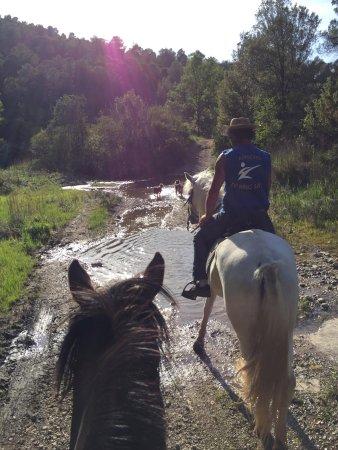 Talamanca, Spain: riding a long rivers