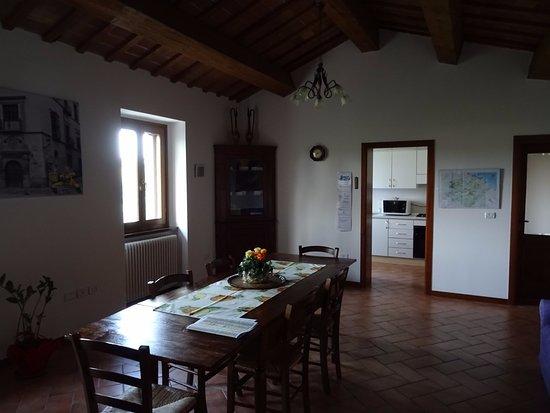 B&B Il Monchetto: Sala comune e cucina