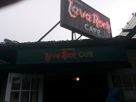 Volcano's Lava Rock Cafe Photo