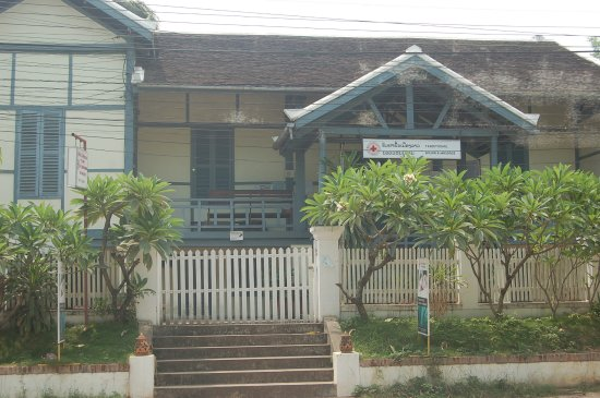Lao Red Cross Sauna and Massage : the front