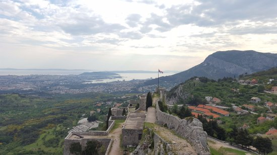 Klis, Croácia: View from the Fortress