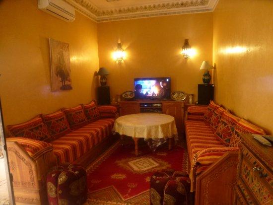 Riad bianca b b marrakech maroc voir les tarifs 17 for Salon zen rabat tarifs