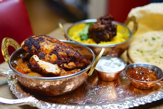 Taunton, UK: Empire curry