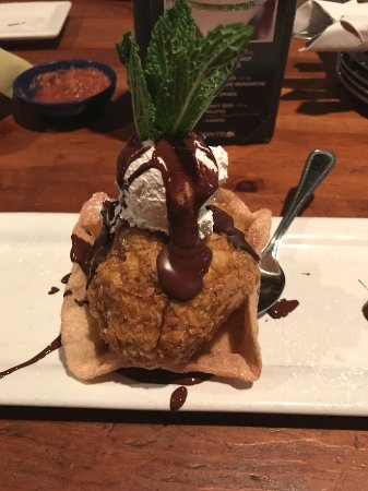 Hawthorne, CA: Deep Fried Ice Cream