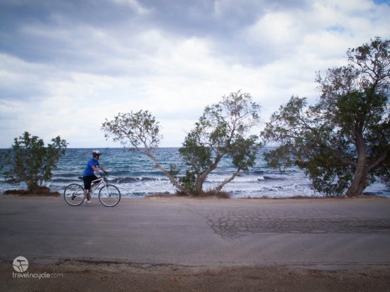 Attica, Grekland: Seaside ride at Aegina only one hour form Athens!