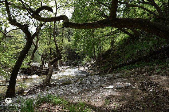 Attica, Grecia: Belokomitis river, our favorite spot for pic nic at Plastira lake region