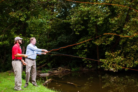Adairsville, GA: Fly fishing