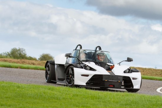 Scotstown, Irland: KTM X-BOW GT in Action!