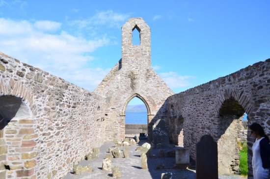 Ballinskelligs, Irland: nave central