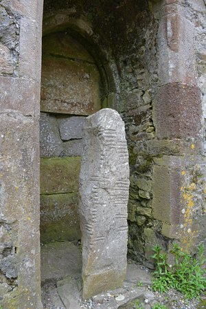 Ardmore, Ireland: Stone with inscriptions