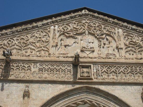 Cattedrale di Palermo : Un detalle del frente