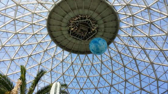 "Mitchell Park Horticultural Conservatory (The Domes): Desert dome ""moon"" April 2017"