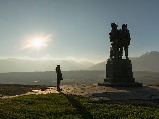 Fort William, UK: The Commando Monument at Spean Bridge
