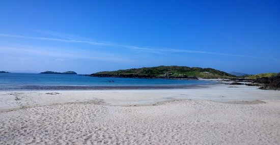 Caherdaniel, Irland: Great views from the beach