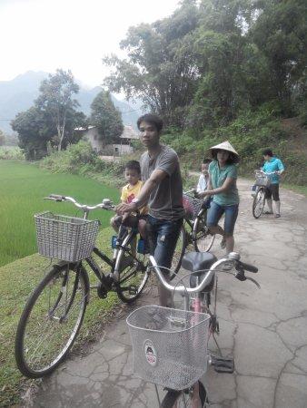 Mai Chau, فيتنام: cycling back resort