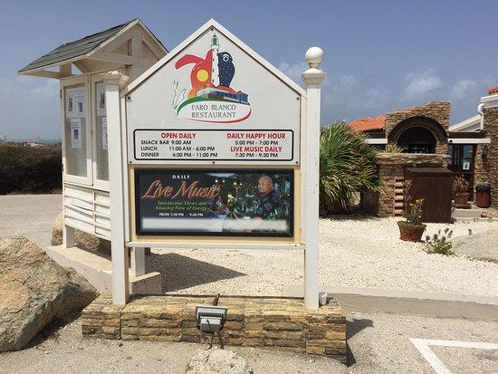 California Lighthouse Restaurant Aruba Menu