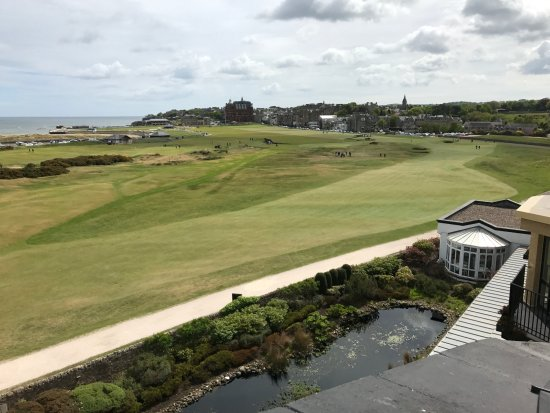 Old Course Hotel, Golf Resort & Spa: View from Rooftop Bar