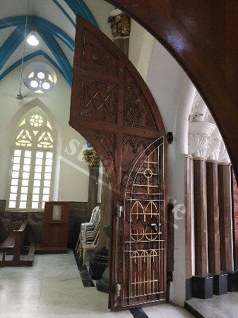 Inside St. Mary's Basilica