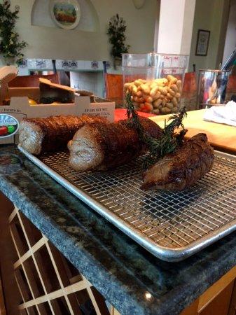 Mount Pleasant, Carolina del Sur: Ready for roasting and Bordelaise...