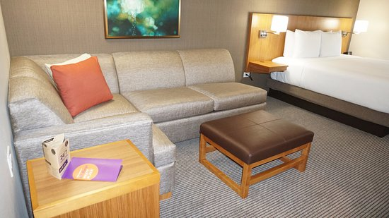 King Room with sleeper sofa Picture of Hyatt Place Dallas The