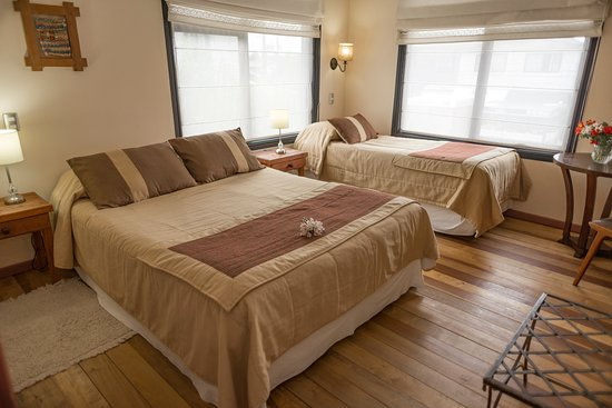 Weisserhaus: Habitacion Triple (Cama Queen mas Single)