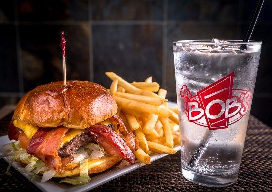 Burlington, WA: Bob's Awesome Bacon Burger!