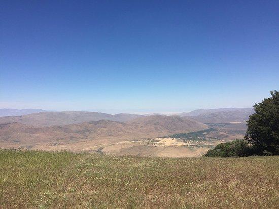 Volcan Mountain Wilderness Preserve: anza borrego desert park view