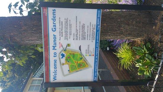 Exmouth, UK: Manor Park Gardens