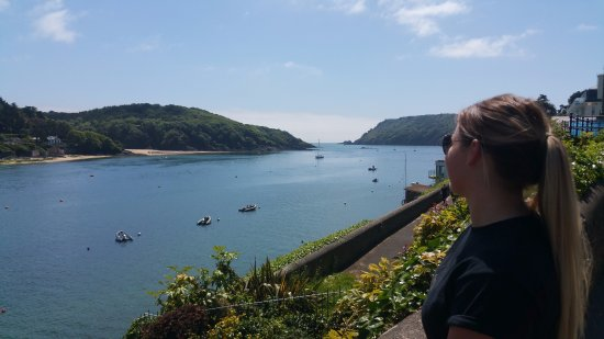 The Jetty Salcombe: Our lunch time view