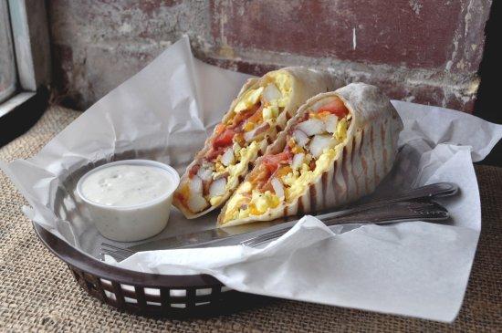 Port Orchard, WA: Breakfast burrito of champions