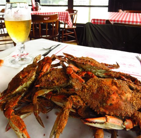 The Crab Claw: Steamed crabs