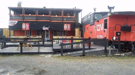 Shawinigan, Καναδάς: Terrasse ,table d'hôte,jeudi burger,repas pour  tous les goûts