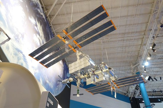 International Space Station scale model. - Picture of ...