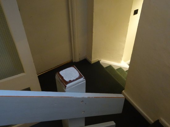 Trebarwith, UK: Staircase