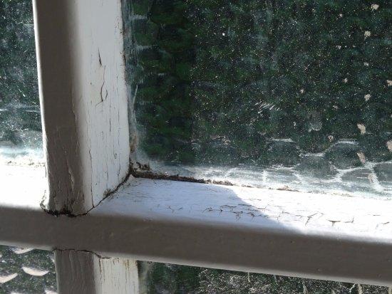 The Mill House Inn: Bathroom window