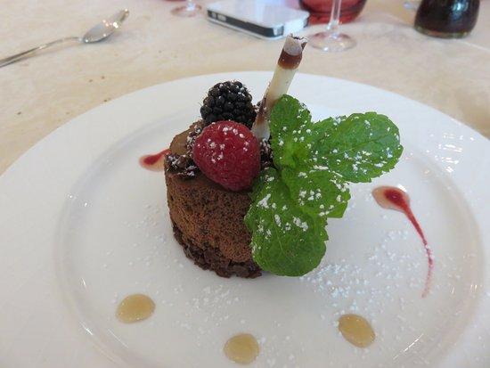 Le Lude, Francia: Moelleux au chocolat