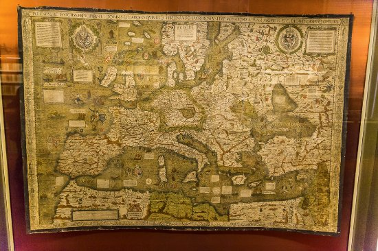 Map 0f Europe.An Old Map Of Europe Picture Of Herzog August Bibliothek