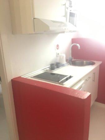 Hospederia Zahara: Habitación doble con cocina