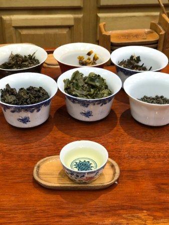 Vital Tea Leaf : vários chás