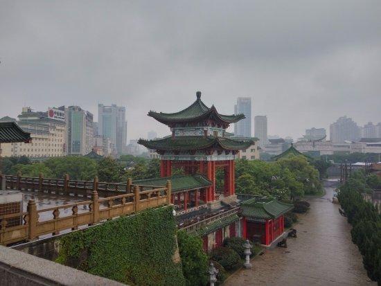 Nanchang, China: Le pavillon