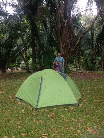Belmopan, Belice: Our tent, BRING YOUR OWN! There are not rental tents.