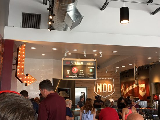 Humble, TX: New MOD Pizza!