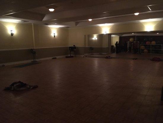 Mendon, VT: Yoga studio is in the basement