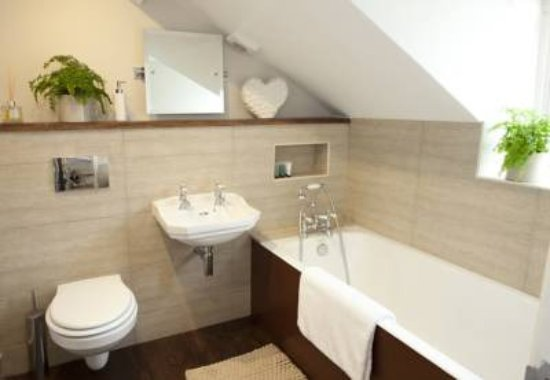 Stow-on-the-Wold, UK: Third floor bathroom