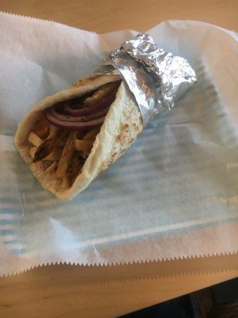Chelmsford, MA: Fiery Greek Gyro