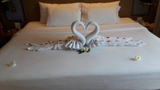 Mercure Koh Samui Beach Resort: Das 3 m breite Bett