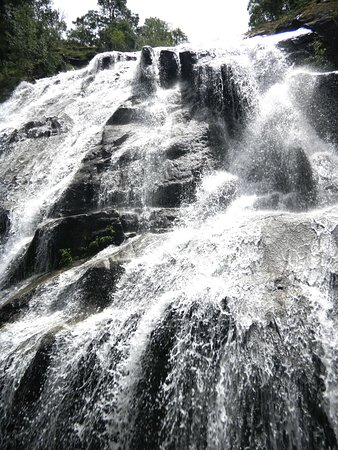 Plasencia, Espagne : Cascada del Caozo en la garganta Bonal