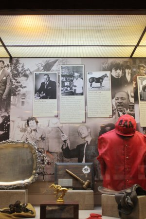 American Quarter Horse Heritage Center & Museum: Julia Child and MLK section