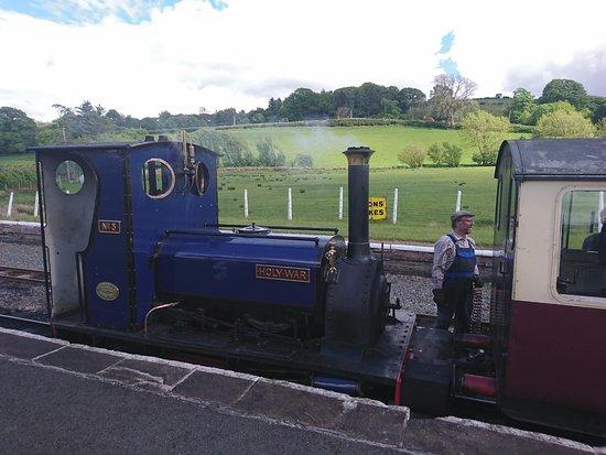 Llanuwchllyn, UK: The steam train